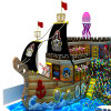 Sicurezza Ocean Theme Indoor Playground per Kids