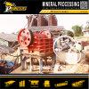 Pedra da rocha que esmaga a fábrica de tratamento do ouro do triturador de maxila da máquina de mineração
