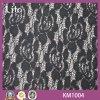 Tissu français de lacet de nouveau coton de modèle pour Madame Dress Km1004