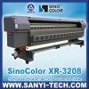 Impressora solvente da série 35pl do protão 382 de Sinocolor Xaar do grande formato, Xr-3208