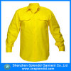 Men를 위한 Color 단단한 High Visbility Fluo Yellow OEM Shirt