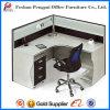 Partición de aluminio de la oficina de la venta caliente con el gabinete lateral