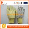 De Handschoenen van de tuin met het Katoen AchterDgs403 van de Bloem