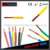 Fio elétrico isolado PVC aprovado UL de Awm UL1007