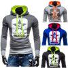 2016 neuer Form-Männer nehmen passende Sweatshirt Hoodie Männer ab