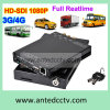 4 kanaal WiFi Car DVR met GPS 3G 4G voor Vehicle Cargo Mobile Security
