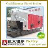 中国の水平の蒸気ボイラの石炭の燃料