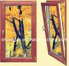 Perfil elegante do alumínio da janela do Wood-Grain da mansão