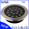 RGB High Qaulity Big Power 18W LED Underground Light