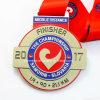 Medaglia su ordinazione di sport di 2017 del metallo dell'oggetto d'antiquariato del bronzo campionati della stazione di finitura