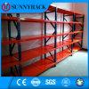 Shelving longo da extensão do armazenamento seletivo do armazém