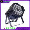 RGBWA 5in1 변경 색깔 18X15W LED 동위 64 단계 빛