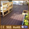 Decking compuesto plástico de madera hueco usado al aire libre para la venta