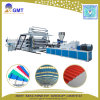 Single+Multi 층 PVC+PP+Pet 물결 모양 루핑 장 도와 위원회 압출기 기계