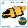 Veste de vida de nylon do animal de estimação da tela da cor amarela