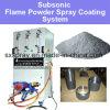 Серия системы оборудования термально порошка пламени распыляя подзвуковая для металлической обработки покрытия корозии покрытия (меди AL Zn цинка алюминиевой стальной латунной) анти-
