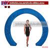 Glissade bleue de voûte de cercle de décoration d'usager de décoration de mariage (W1045)