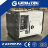 Nuevo generador diesel silencioso estupendo del movimiento 5kVA del diseño 4 (DG6900SE)