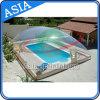Haltbarer aufblasbarer transparenter Swimmingpool-Deckel für Swimmingpool, im Freien kompletter transparenter aufblasbarer Pool-Deckel, aufblasbare Pool-Abdeckung