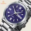 Montres occidentales de vente chaudes, montre de quartz du Japon, cuir véritable Watches72446