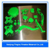 Rivestimento elettrostatico ecologico verde al neon della polvere