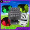 25X30W RGB DMX die het Hoofd LEIDENE Licht van de Matrijs bewegen