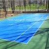 屋内Futsalによって中断されるテニスは裁判所のプラスチックフロアーリングのマットの表面を遊ばす