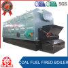 Chaudière à vapeur à chaînes industrielle de chauffage de charbon de tube d'incendie de grille