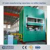 Presse en caoutchouc de vulcanisation de grande plaque faite à la machine en Chine