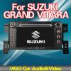 Ca7 '' navegación del coche DVD GPS para tope Vitararbon del frente magnífico de la fibra de Suzuki el medio para el Benz SL56 Amg (JSK060501)