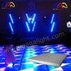 LEDカラー雪の効果の変更のダンス・フロアLEDのダンス・フロア