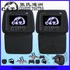 7  крышка застежки -молнии игрока заголовника автомобиля DVD с экраном монитора TFT LCD, USB, SD, Fm, наушниками иК беспроволочными, трицатидвухразрядной игрой (H701DDC)