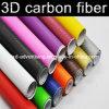 3D Carbon Fiber Vinyl para Car, 3D Carbon Fiber Car Wrap Vinyl