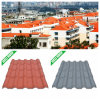Испанский язык 1040mm Width Composite Resin Roof Tile