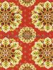 2015新しいデザイン現代ベロアの印刷のカーペット13