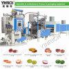 Süßigkeit-Maschinen-harte Süßigkeit-abgebende Zeile mit PLC-Steuerung (GD1000)