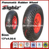 Plastic 넓은 Lawnmower 13X4.00-6 Solid Rubber 정원 Cart Wheel