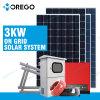 Sistema fotovoltaico del comitato solare del legame completo di griglia 3000W di Morege