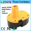 Yellow+Black 1.5ah NiMH Electric Tool Battery voor Dewalt DC9091