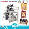 Patatas fritas automáticas que pesan llenando la máquina de empaquetado del alimento de lacre