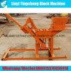 Máquina de fabricación de ladrillo manual del fango Qmr2-40