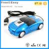Souris optique de câble de cadeau de voiture d'USB de prix usine de Shenzhen