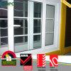 Energia UPVC eficiente reparada e vidro de deslizamento Windows para o repouso
