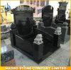 Lápides pretas do estilo chinês do granito