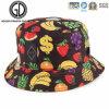 Chapéu colorido da cubeta da uva da morango da banana das frutas da forma nova