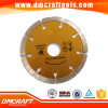 Segmento Dry Cutting Diamond Saw Blade para Stone