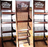Affichages adaptés aux besoins du client de support de plancher en métal de conception