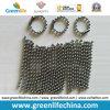Catena su ordinazione placcata argento standard della sfera di metallo di formato di alta qualità