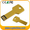 Color de oro mini clave forma USB Flash Pendrive