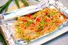 алюминиевая фольга домочадца качества еды 1235 0.010mm для жарить в духовке Vegatebles